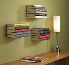 Consejos para la decoración con estantes caseros