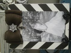 Black and White with Burlap Bow and Brooch- thefrenchfleashop on Etsy Vintage Picture Frames, Vintage Pictures, Burlap Bows, Brooch, Rustic, Black And White, Etsy, Vintage Photo Frames, Country Primitive