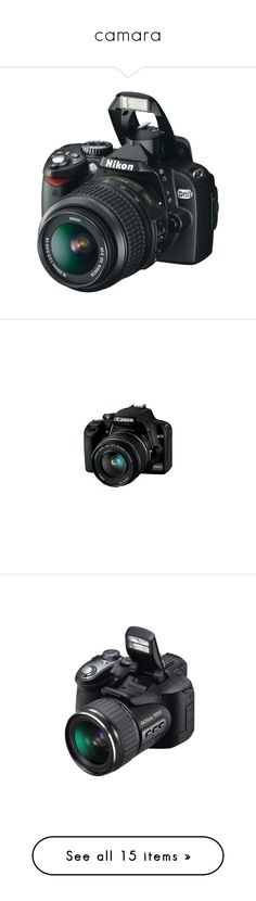 """""""camara"""" by stefy-music-love-1d ❤ liked on Polyvore featuring camera, electronics, fillers, tech, accessories, other, random, blue, filler and photography"""