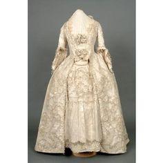 historic wedding dress