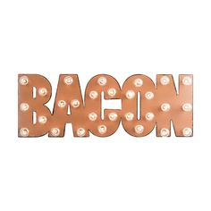 BACON Marquee Sign | dotandbo.com