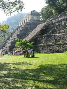 Nice view of a Mayan Temple for future art