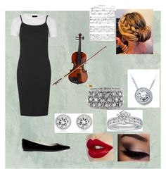 """Orchestra concert"" by summercurtis14 ❤ liked on Polyvore featuring Topshop, MICHAEL Michael Kors, Michael Kors, Tiffany & Co., Mark Broumand and Rosin"