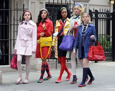 """Our book defines style tribe as """"a group, a cluster of like-minded and like-living people. Adopting an appearance style is a marker of membership in a style tribe.""""  For example, in the series Gossip Girl; B tries to design a new look but needs the influence of the Upper East Side prep-school girls help to make it happen."""