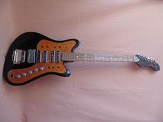 Vintage Electric Guitar USSR Stella Stereo Soviet Russian | eBay