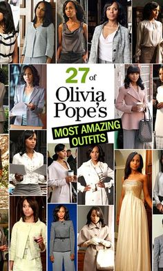 27 of Olivia Pope's Most Amazing 'Scandal' Outfits Olivia Pope Wardrobe, Olivia Pope Outfits, Olivia Pope Style, Warm Outfits, Classy Outfits, Cute Outfits, Scandal Fashion, Business Casual Outfits, Business Wear