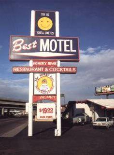 Route 66 through downtown Needles