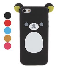 Little Bear Design Soft Case for iPhone 5 (Assorted Colors) – USD $ 5.19