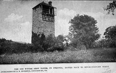 Poplar Camp - Shot Tower  This is a pre-1907 image of the Revolutionary War landmark near the Wythe-Carroll County line.