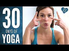 Day 22 - Full Body Awareness - 30 Days of Yoga - YouTube