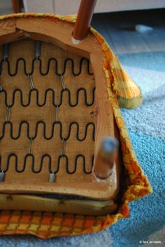 Trekke om gammel stol