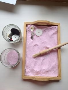 lovely coloured salt sensory prewriting play and also a great post on invitations to play from @Anna @ The Imagination Tree