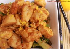 Food I Make My Soldier: Orange Chicken