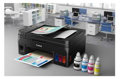 Canon PIXMA G4200 Cost-Effective MegaTank Inkjet Printer