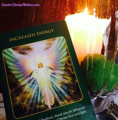 December 4, 2014:  Your energy is increasing due to positive changes, which are occurring in your life. These happenings are being carefully orchestrated to bring about the best outcome; therefore, trust and know your angels are with you.  Feel and enjoy the burst of energy! www.sandradenisemolina.com #angelgram #angels #Energy