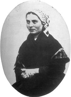The Story of St. Bernadette and Lourdes – Part V: The Miracles of Cures and Healing Begin … Ste Bernadette, St Bernadette Of Lourdes, St Bernadette Soubirous, Catholic Saints, Roman Catholic, La Salette, Religion, Powerful Pictures, Sign Of The Cross