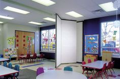 Modernfold Operable Partitions - Acousti-Seal® 912/932/932FS/Encore™ Paired Panel Systems