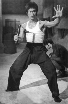 Although I've studied Tae Kwon Do all my life... I don't think there is or will ever be a more formidable martial artist as Bruce Lee. <3 <3 (My teacher Hee Il Cho is up there though ^^)