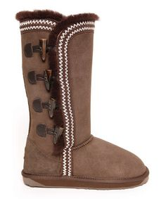 Loving this Chocolate Albina Boot - Women on #zulily! #zulilyfinds