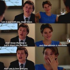 Tfios. Hazel. Augustus. Ths is the cutest thung ever.