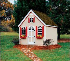 Handy Home Hampton Chalet Playhouse