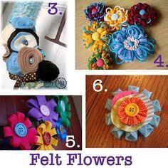 3 dozen flower tutorials!