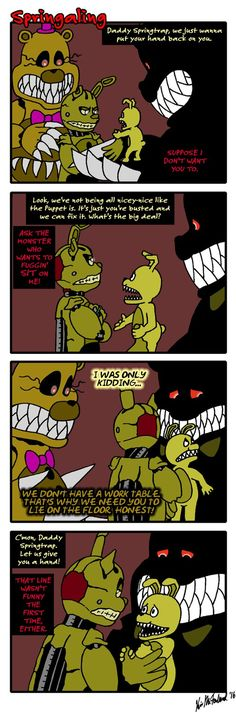 Springaling 154: Everybody's a Comedian by Negaduck9.
