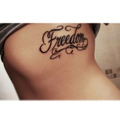 ideas about Freedom Tattoos on Pinterest | Tattoos Taurus Tattoos ... Tattoo Word Fonts, Word Tattoos, Freedom Tattoos, Taurus Tattoos, Graffiti Font, Cool Piercings, Small Tattoos, Hand Lettering, Tatting