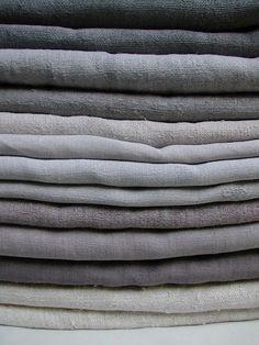 Hemp in grey and cream tones