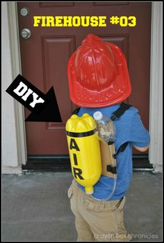 DIY Fireman Air Tank by Crayon Box Chronicles