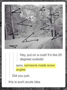Someone made snow angles // funny pictures - funny photos - funny images - funny pics - funny quotes - #lol #humor #funnypictures