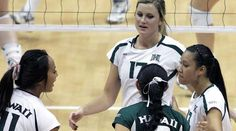 University of Hawaii Women's Volleyball -- Can't wait for season to start!
