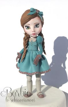 My new doll called Matilde by Barbie lo Schiaccianoci