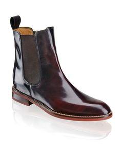 Walter Bauer Brushleder-Boot - rot - Gratis Versand   Schuhe   Boots & Stiefeletten   Online Shop   1623609487