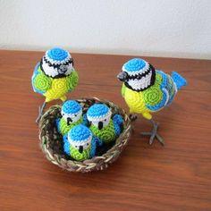 Amigurumi - Pássaros. ~ Armarinho São José