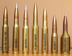 fifty caliber 50 .50 BMG Browning