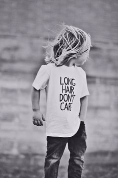 Long Hair Don't Care shirt