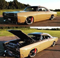 Hot Wheels - Crazy Dodge Coronet via @crazybysteven rocking that sweet Hemi…