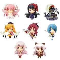 AmiAmi [Character & Hobby Shop] | Color Colle DX - Puella Magi Madoka Magica the Movie [New] The Rebellion Story 8Pack BOX(Preorder)
