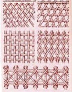 Cestería en papel de periódico (cestería china) (pág. 60) | Aprender manualidades es facilisimo.com