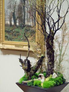 Art in Bloom Minneapolis Institute of Art 2014. The Edge of the Moor,Brittnay  Arrangement by Diane Enge