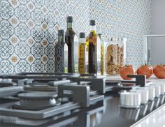 Cocinas de estilo rústico de ILKINGURBANOV Studio Interior Rendering, Wooden Kitchen, Scandinavian Style, Candles, Studio, Cgi, Home, Country Style Kitchens, Decorating Kitchen