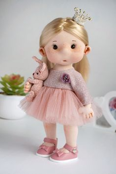 Fabric Doll Pattern, Fabric Dolls, Cute Baby Girl, Cute Babies, Homemade Dolls, Child Doll, Soft Dolls, Pet Toys, Doll Clothes