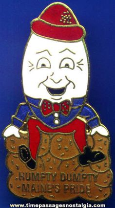 """Humpty Dumpty Potato Chips - """"Maine's Pride"""" they were made right in Scarborough, Maine!"""