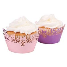 Enchanted Cupcake Wrappers for a Princess Theme