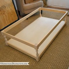 coffee table base for ottoman - 9