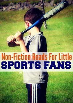 Know a young #sports fan? Our #RaiseaReader blog has 5 non-fiction reads sport-lovers will enjoy. Click for more.