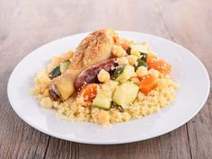 Couscous sans couscoussier Couscous Sans Couscoussier, Couscous Royal, Gordon Ramsay, Healthy Cooking, Fried Rice, Bon Appetit, Cobb Salad, Stew, Risotto