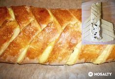Kígyórétes túrótöltelékkel Banana Bread, Desserts, Food, Tailgate Desserts, Deserts, Essen, Postres, Meals, Dessert