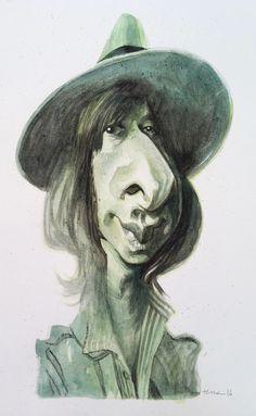(7) Bruno Tesse - Steve Perry ( watercolor )